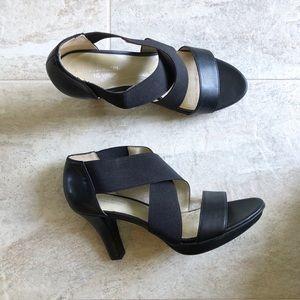 Naturalizer N5 Comfort Black Delmar Heels